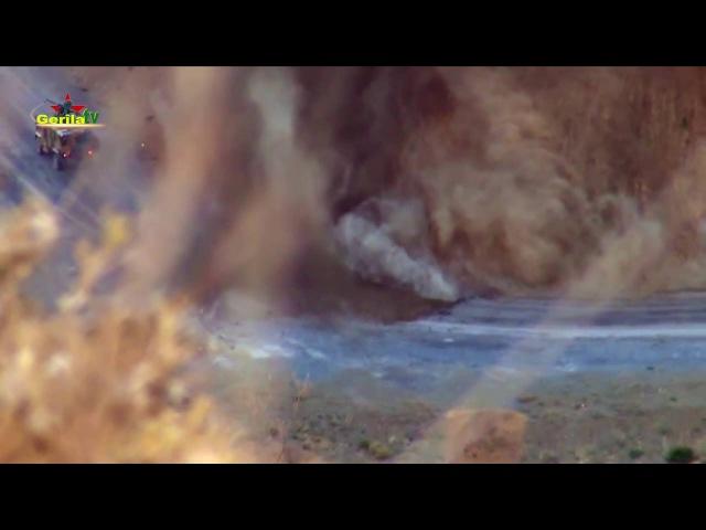 Gerilla TV Hakkari Yüksekova Berdereş Serangil Arası Sabotaj video Eylemi yayinladi 3 Ekim 2016