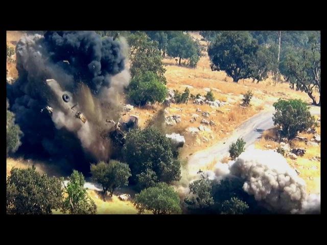 Gerilla TV Şemzinan Mamreş Bezok Karakolları Arası Sabotaj Eylemi 23 Ağustos 2016