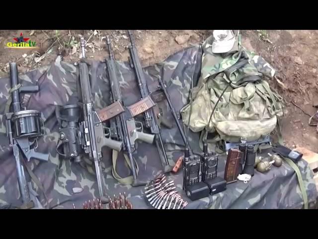 Gerilla TV Şemzinan Geniş Tepe Eylemi 10 Haziran 2016