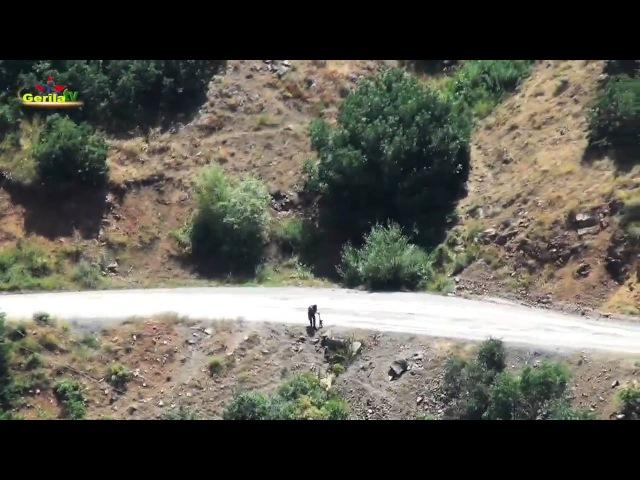 Gerilla TV Şemdinli Bezele Sabotaj Eylemi 10 Temmuz 2016