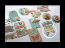 DIY Embellecedores con scraps ...... DIY scrapbook embellishments Creaciones Izzy