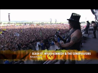Slash Feat. Myles Kennedy The Conspirators - Rock Am Ring 2015 FULL SHOW HD
