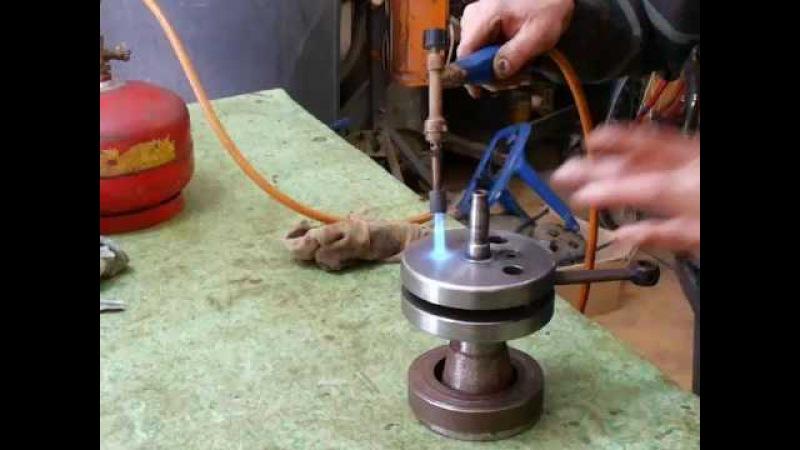 распрессовка коленвала Минск (часть 1) Технология правильного ремонта
