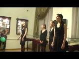 Песня Калина красная в исполнении студентов ГИТИСА + текст песни