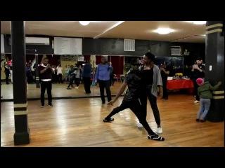 Manuel Dos Santos and Flavie Merise Semba Dance - Balmir Dance Studio