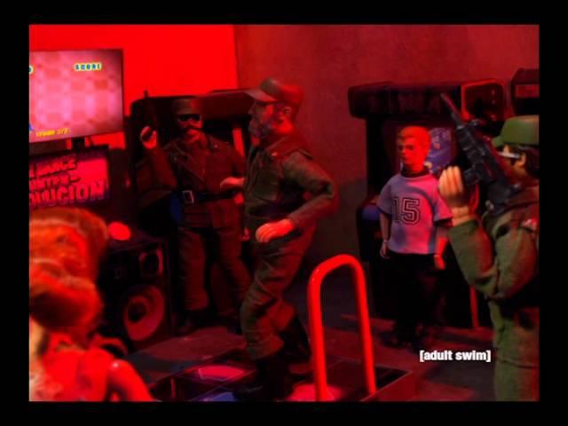 Dance Dance Revolucion   Robot Chicken   Adult Swim