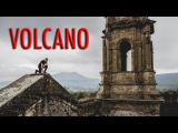 ABANDONED CHURCH AT THE BOTTOM OF A VOLCANO!