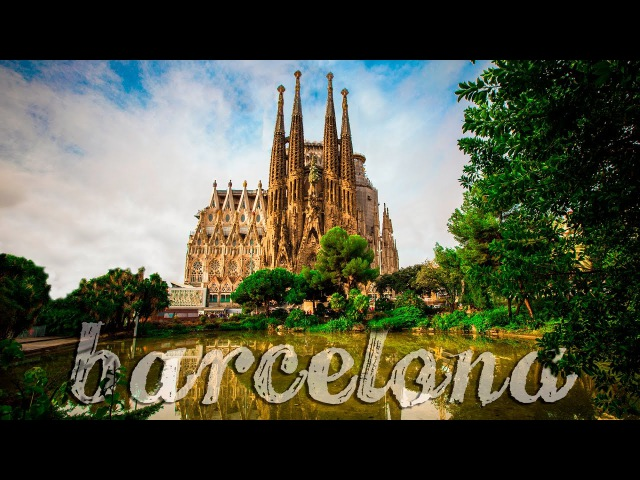 Barcelona Spain - The City of Counts in 4K!