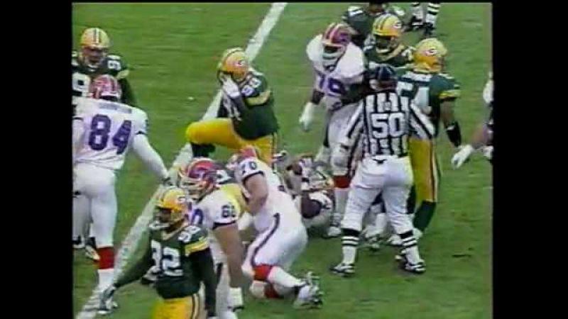 1997 NFL Week 17 Buffalo Bills vs Green Bay Packers