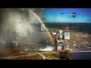 A Rainbow View of NASA's RS-25 Engine Test