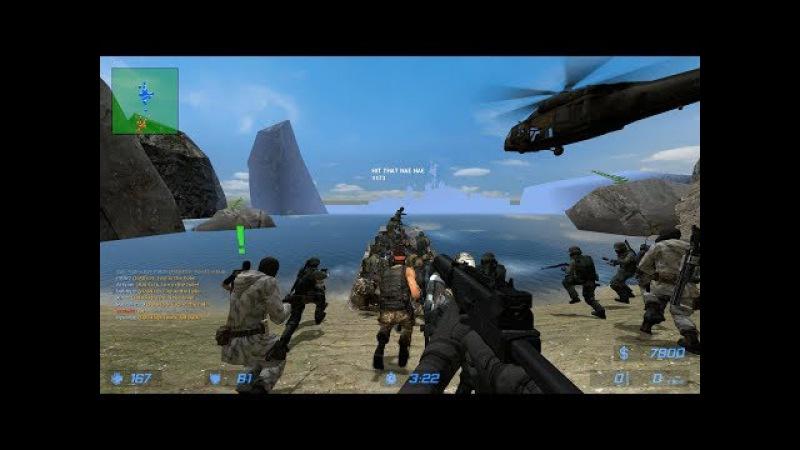 Counter-Strike: Source - Zombie Escape Mod - ze_isla_nublar_v2_1 - Extreme - PlagueFest