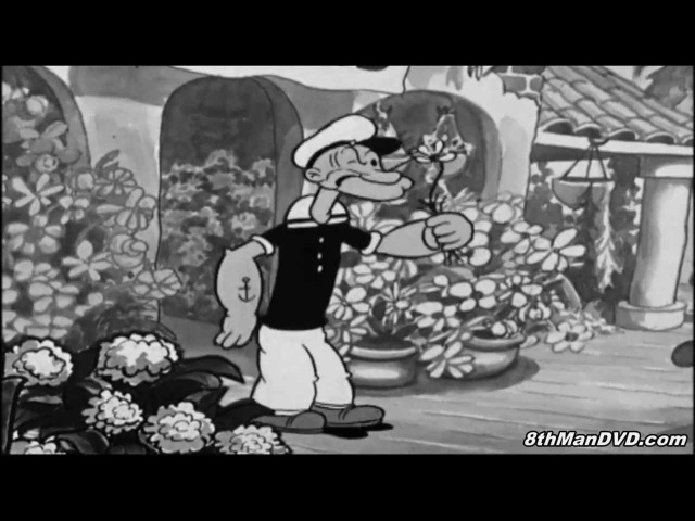 POPEYE THE SAILOR MAN: Blow Me Down (1933) (Remastered) (HD 1080p)