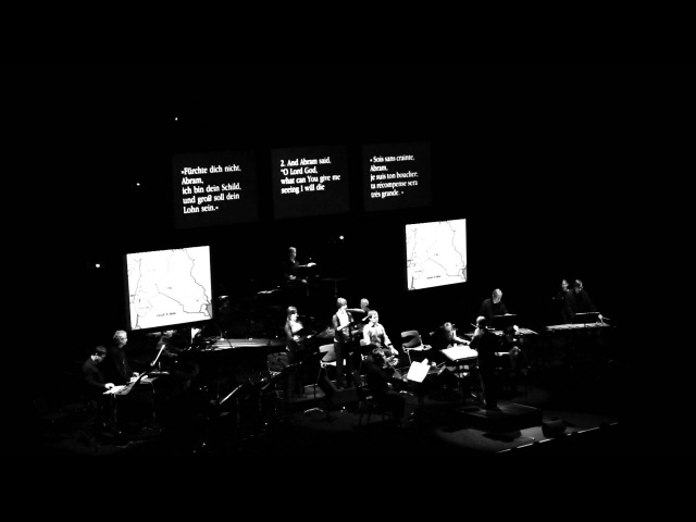 Steve Reich and Beryl Korot - The Cave (crop 14) - Musica Strasbourg