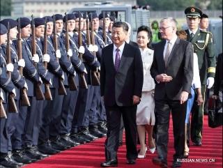 Си Цзиньпин прибыл в Берлин с государственным визитом в ФРГ