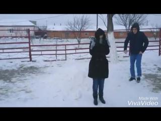 Кинул в снег [Нетипичная Махачкала]