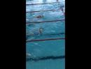 Была на Соревнованиях второй раз плыла 50 и дали медаль