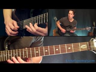 Fade To Black Guitar Lesson Pt.3 - Metallica - Intro Solo _ Interlude