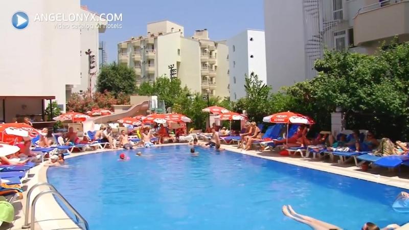 NOA Hotels Club Nergis Beach 4★ Hotel Marmaris Turkey angelonyxcom - YouTube