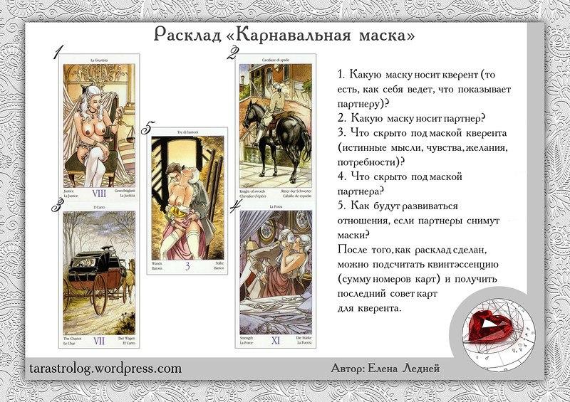 ЕленаРуденко - Расклады на картах Таро. NKu2Y2Poys0