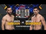 UFC Fight Night 112 Джаред Гордон vs Майкл Куинонес полный бой