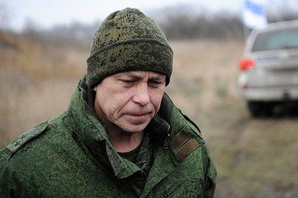 В ДНР в убийстве Гиви обвинили украинские спецслужбы