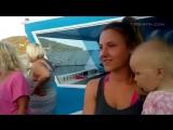 Future Technik Katamaran Suncruiser 1 zweite Testfahrt Antalya