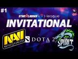 NaVi vs Spirit #1   StarLadder I-league Invitational 2 Dota 2