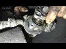 Замена ремкомплекта рулевой рейки ВАЗ 2112