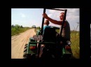 Покатушки на тракторе за травой 2 серия|Gry na ciągniku za trawą 2 seria