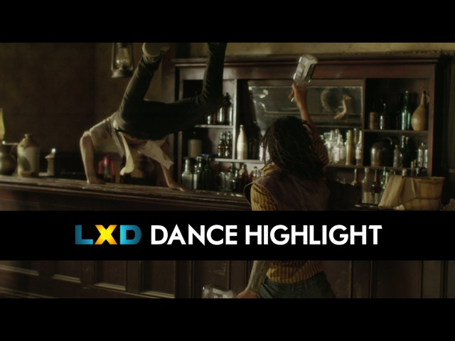 Harry Shum Jr THE LXD'S Dance Scenes - THE GOOD, THE BAD AND THE RA, Pt. 1 Clip 1 [DS2DIO]