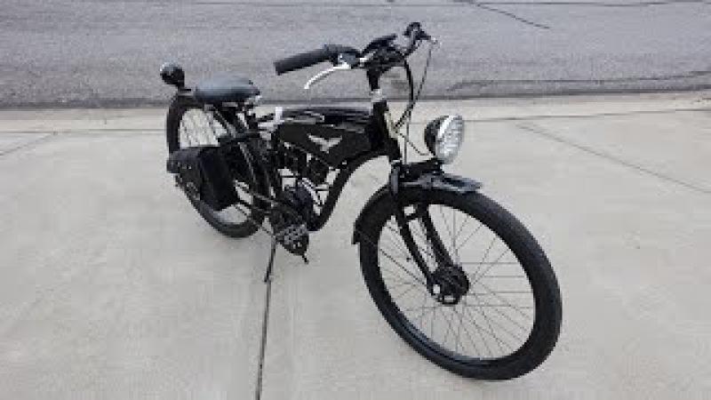 Dewalt 20v x 6 Electric Bike part 8 finished 60v 900w