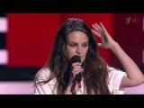 Ксения Коробкова I'm Your Baby Tonight - Слепые прослушивания - Голос - Сезон 5