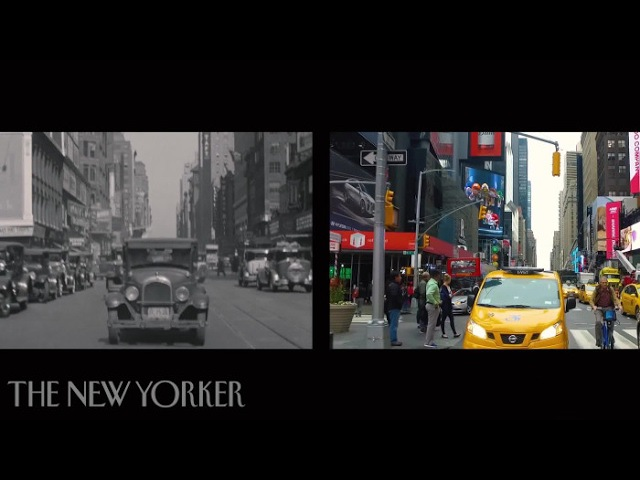 Eighty Years of New York City Then and Now The New Yorker