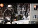 Видео момента падения девятиклассницы из окна 17-го этажа в Москве