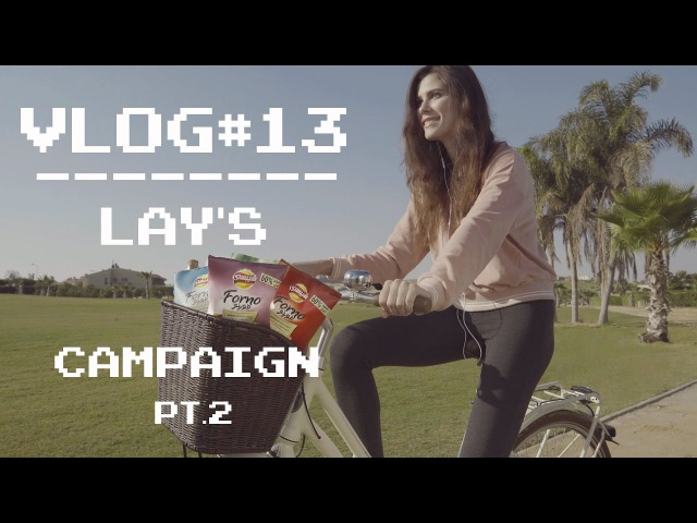 MODEL VLOG13 || SOCIAL MEDIA CAMPAIGN FOR LAY'S | pt.2 eng subtitles