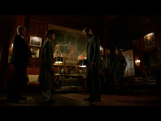 Gotham 1x07: Jim, Bruce, Alfred, Montoya and Allen (Bruce: You expect to die!)