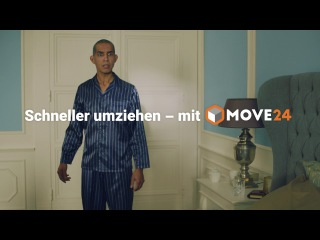 Злободневная немецкая реклама службы быстрого переезда