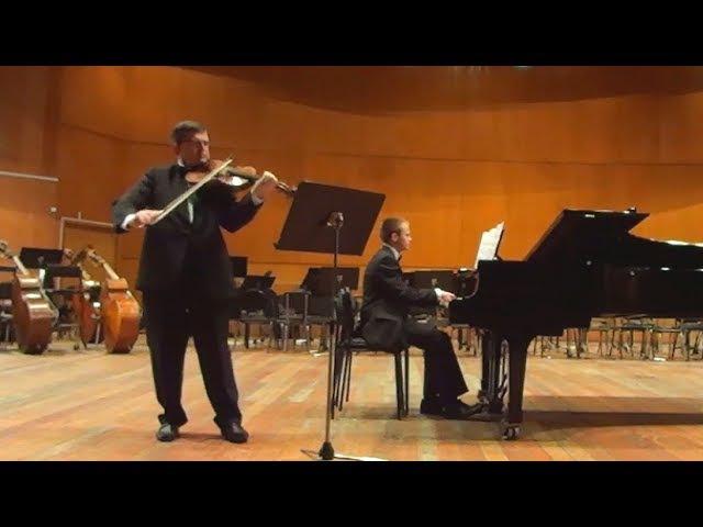 Sergei Dubov Mikhail Dubov play Leclair - Violin Sonata
