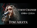 TOM ARAYA VOICE CHANGE 1986 - 2016 | SLAYER