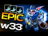 DC.w33 Amazing Meepo vs. PPD's New Team Dota 2