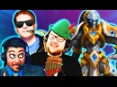 THE BEST TEAM UNITE! MFPallytime Mewnfare Trikslyr Squadron Funny Moments Heroes of the Storm