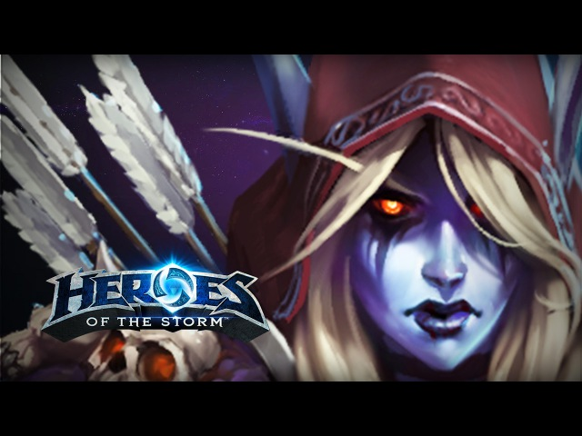♥ Heroes of the Storm (Gameplay) - Sylvanas Is Still The Best Character Ever