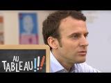 Emmanuel Macron et la paternit