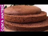 Шоколадный Бисквит (Секреты Приготовления)  Chocolate Sponge Cake, English Subtitles