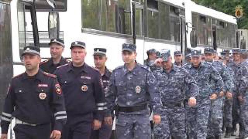 Возвращение сводного отряда рязанских полицейских из командировки на Северный ...