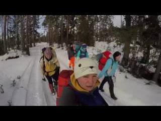 ПВД зимой по Лен Области: идем на Щучье озеро