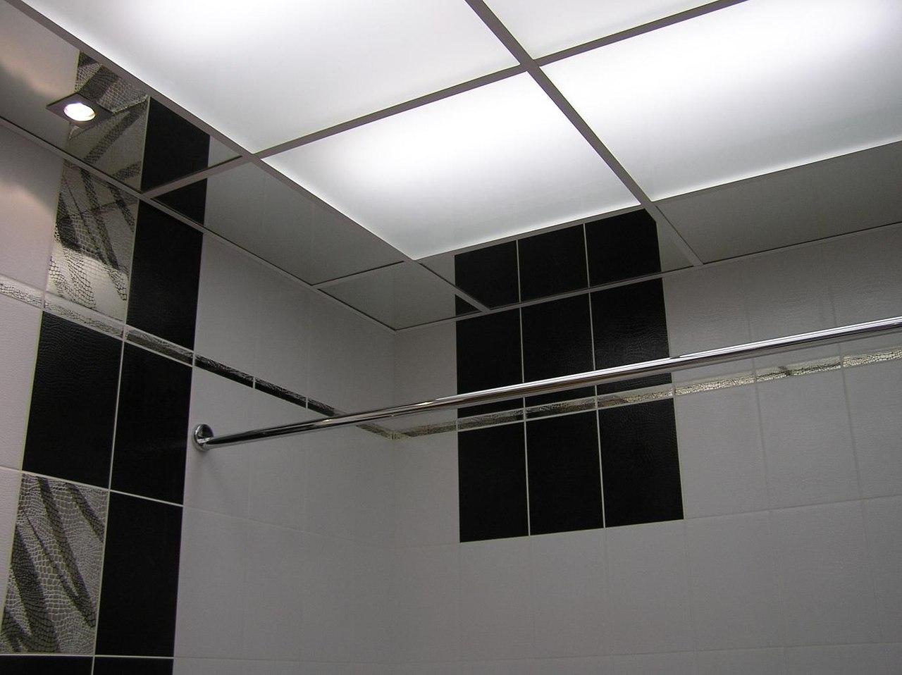 Натяжные потолки в бассейне в Софрино