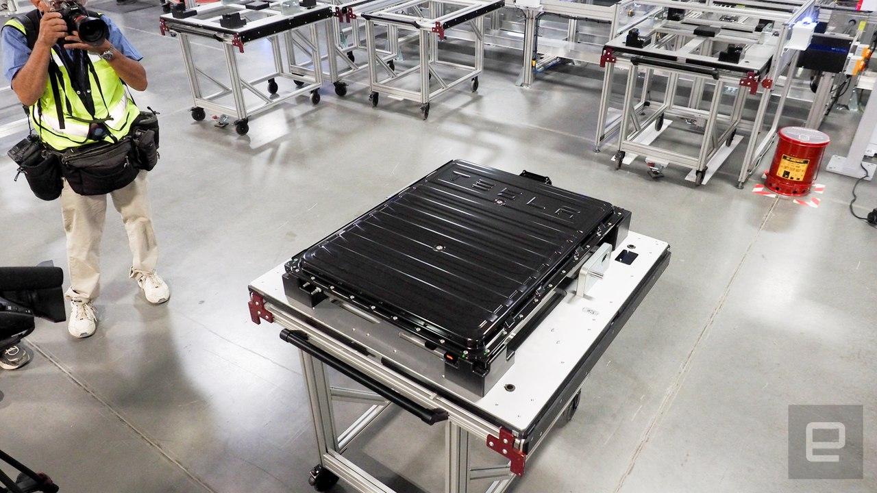 Gigafactory Илон Маск