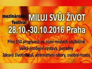 Miluj svůj život 28. - 30.10.2016 v Praze