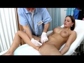 Barbara bieber gyno-x [medical fetish, gyno exam, close ups, vaginal & anal enema, brunette, anal inspection]